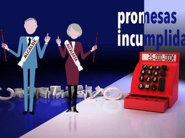 Promesas incumplidas por los alcaldes y alcaldesas