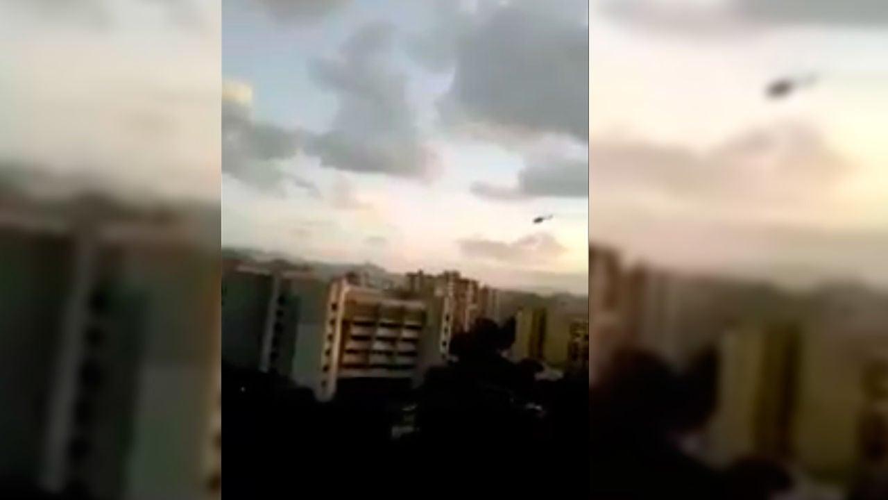 Un helicóptero lanza granadas y dispara contra el TS de Venezuela
