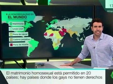MAPA HOMOSEXUALIDAD
