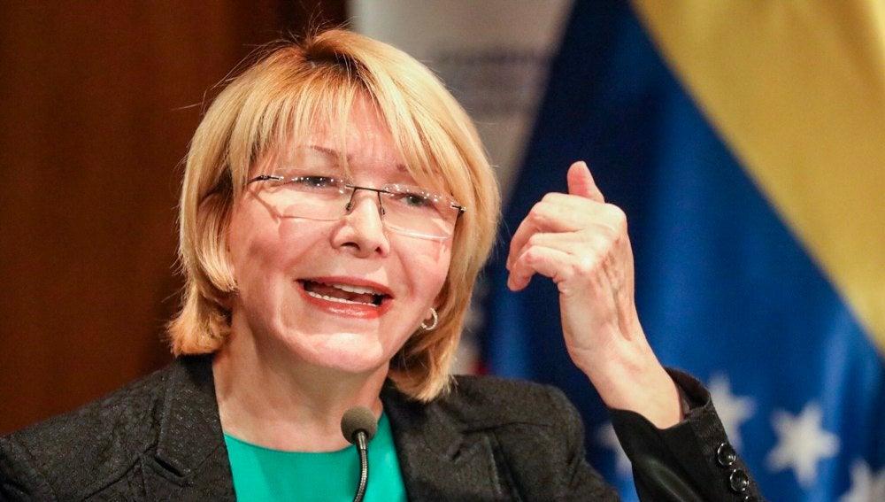La fiscal general venezolana, Luisa Ortega Díaz