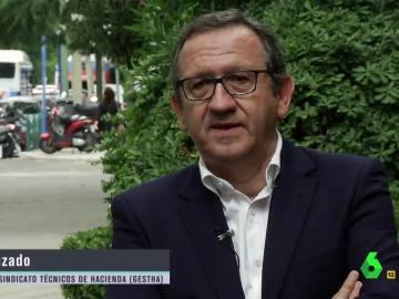 Carlos Cruzado, presidente de Gestha