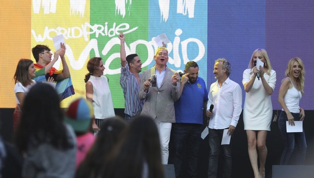Pregoneros del Orgullo en Madrid