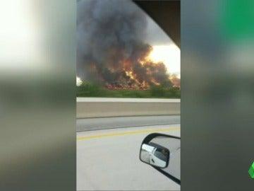 Incendio en Florida y Arizona