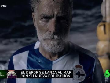 Anuncio del Deportivo de la Coruña
