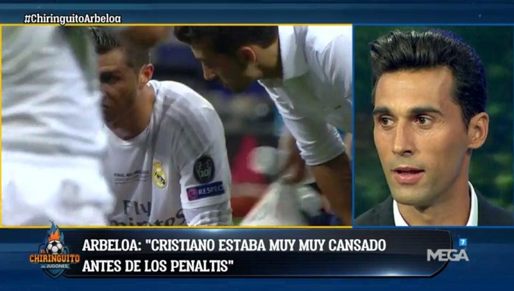 ¿Qué le dijo Arbeloa a Cristiano antes de los penaltis de la final de Milán?