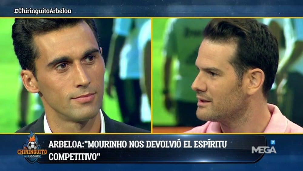 """Arbeloa, en El Chiringuito: """"Jamás trabajaría en el Barcelona, antes me iría al paro"""""""