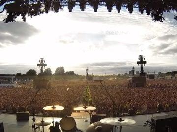 'Bohemian Rhapsody' de Queen cantado por más de 65.000 espectadores en el concierto de Green Day