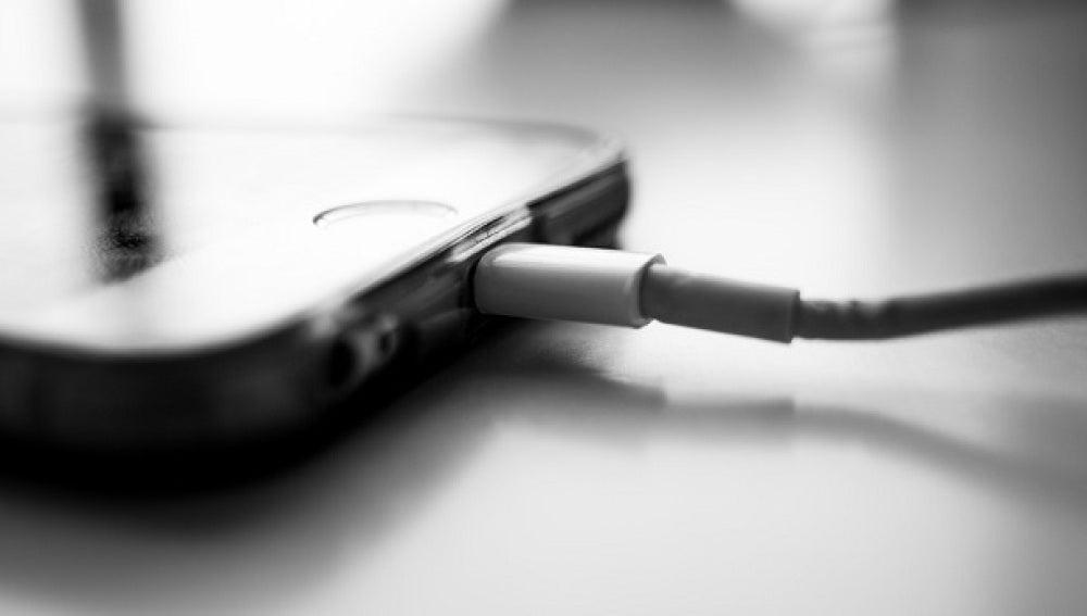 Cargador de móvil iPhone