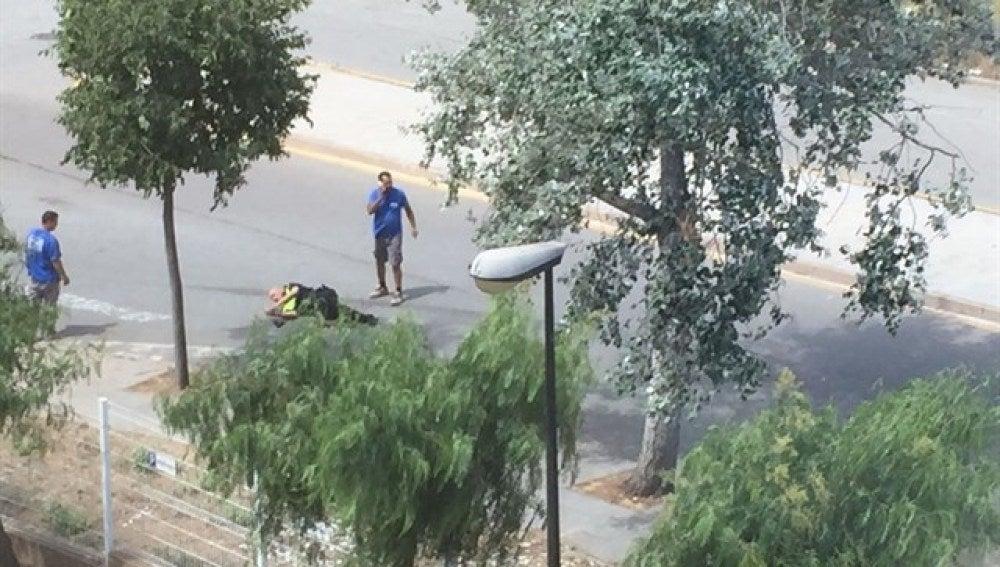 Heridos dos policías en un tiroteo en Gavà