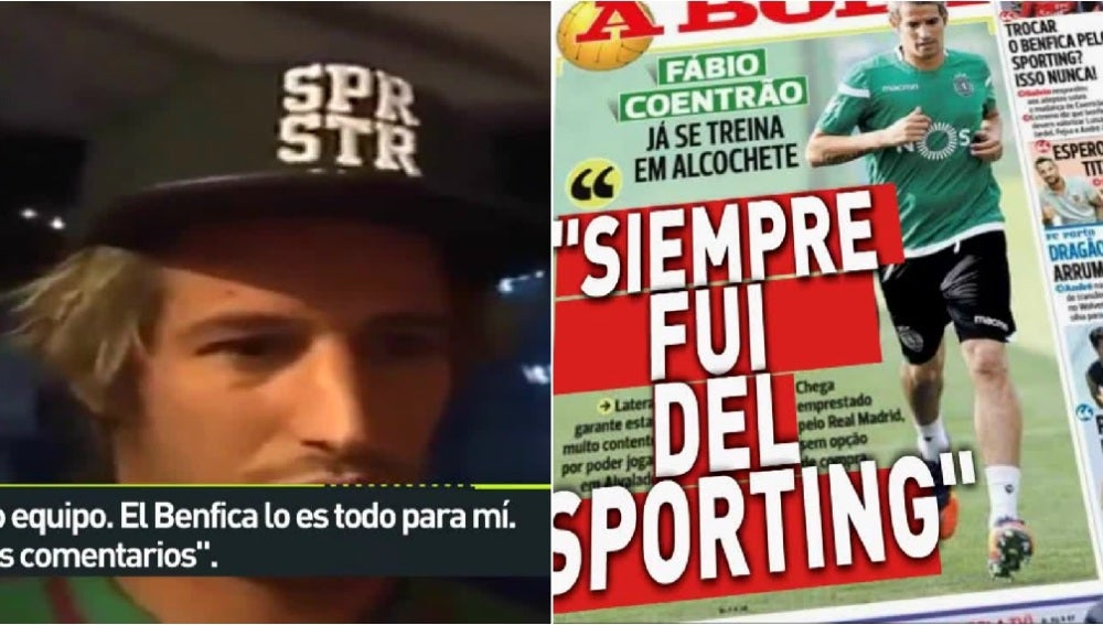 Coentrao y su declaración de amor al Benfica