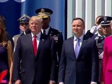 Trump en Polonia