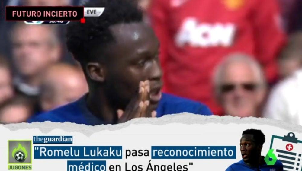 ¿Lukaku, al Manchester United?