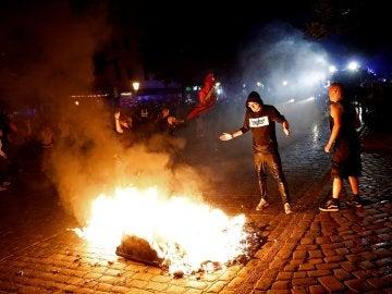 Protestas contra el G20 en Alemania
