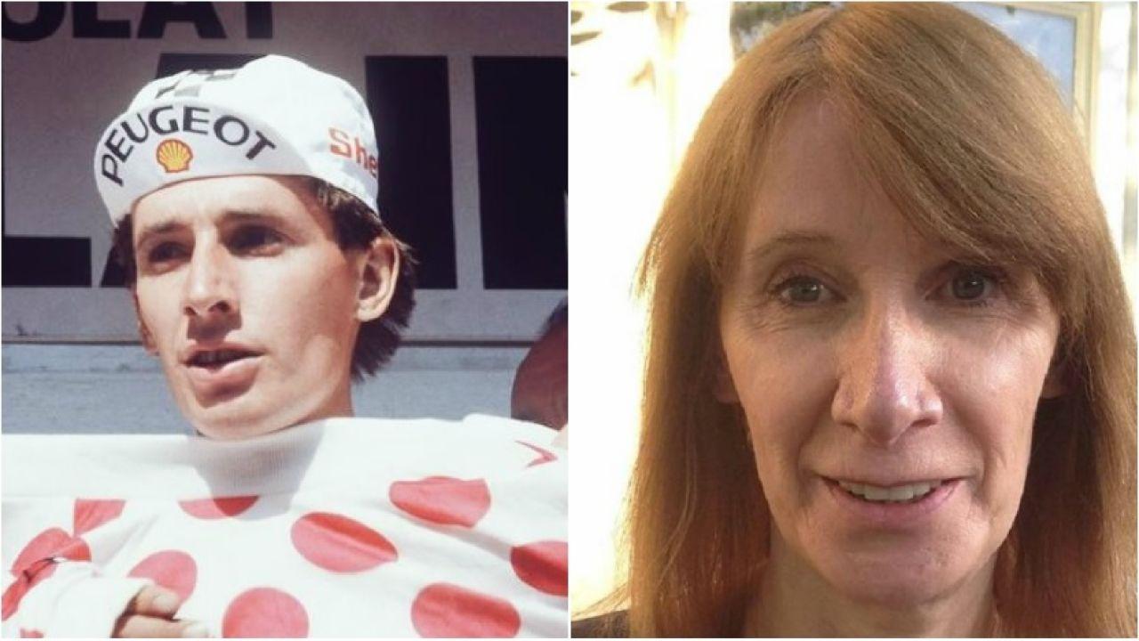 Robert Millar, antes y después de su cambio de sexo