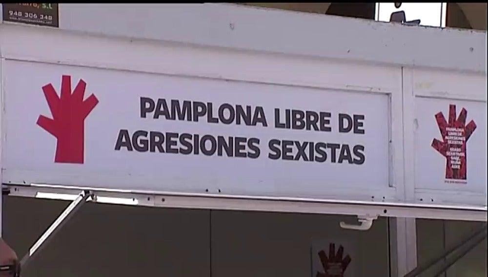 El primer día de los Sanfermines acabó con dos denuncias por abusos sexuales