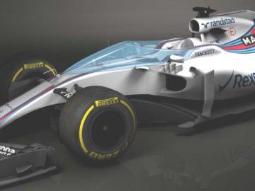 El 'Shield' en un Williams