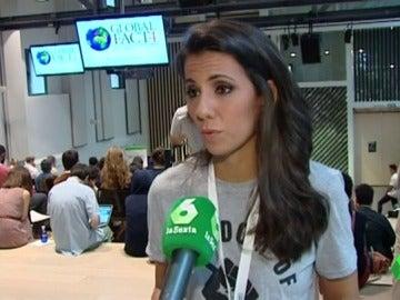 Ana Pastor en la cumbre mundial de periodismo fact-checking