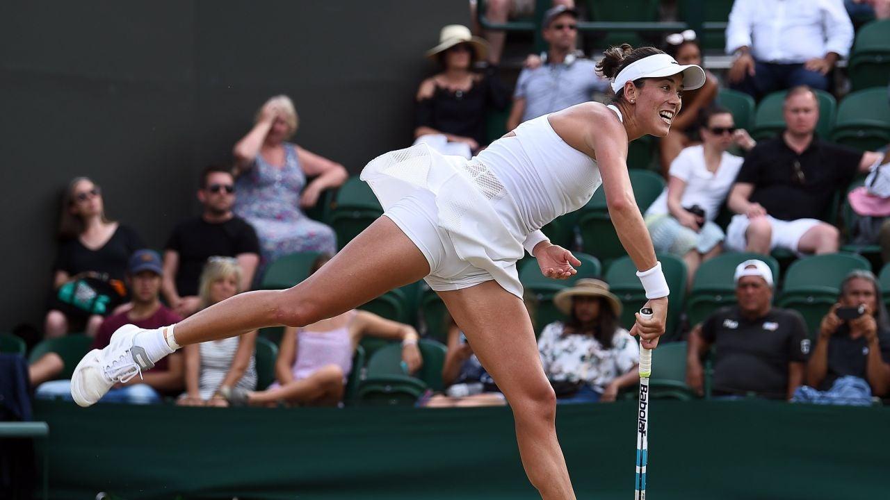 Muguruza en Wimbledon