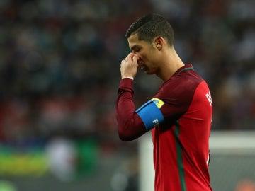 Ronaldo, con Portugal