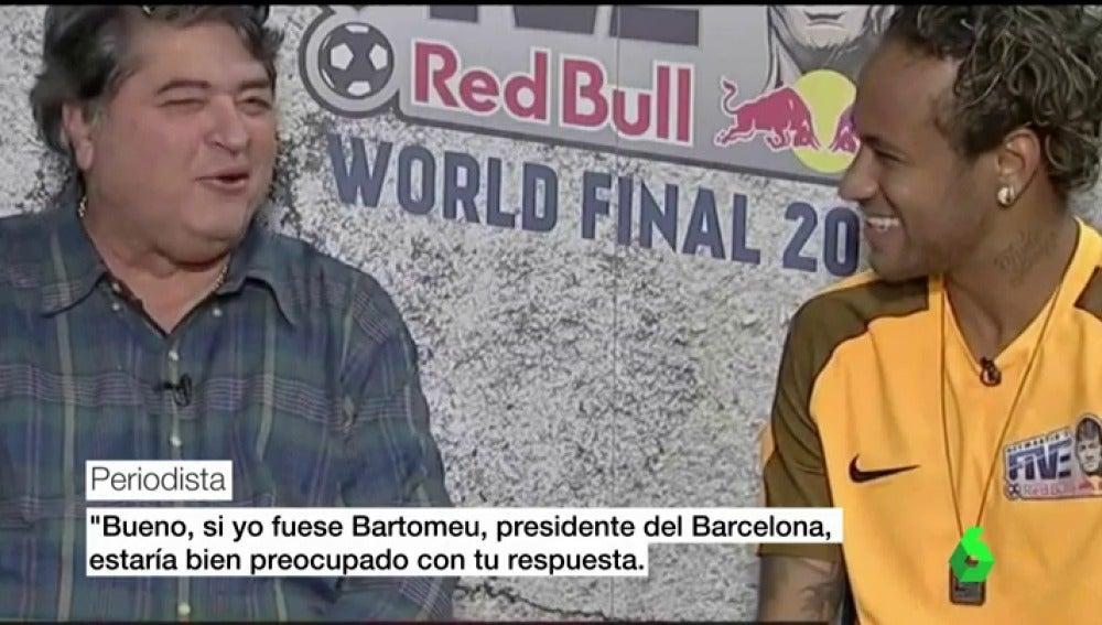 """Neymar no ve claro su futuro en el Barcelona: """"Quién sabe, mañana todo puede pasar"""""""