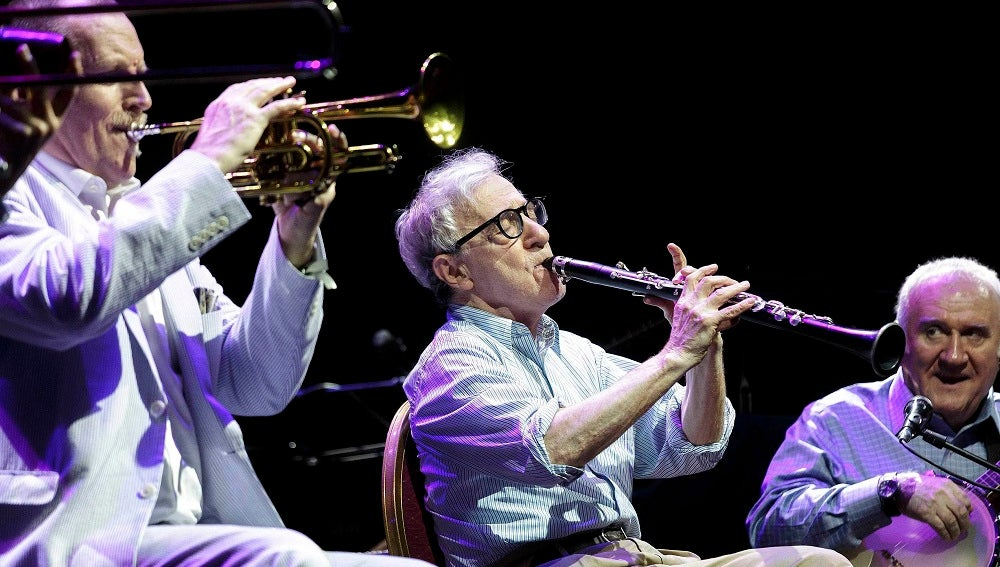 Woody Allen y la New Orleans Jazz Band