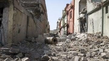 Destrucción en Mosul (Irak)