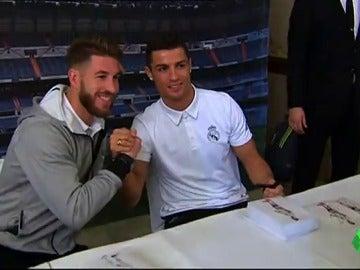 """Sergio Ramos, sobre una salida de Cristiano Ronaldo: """"Estamos en contacto y estoy muy tranquilo"""""""