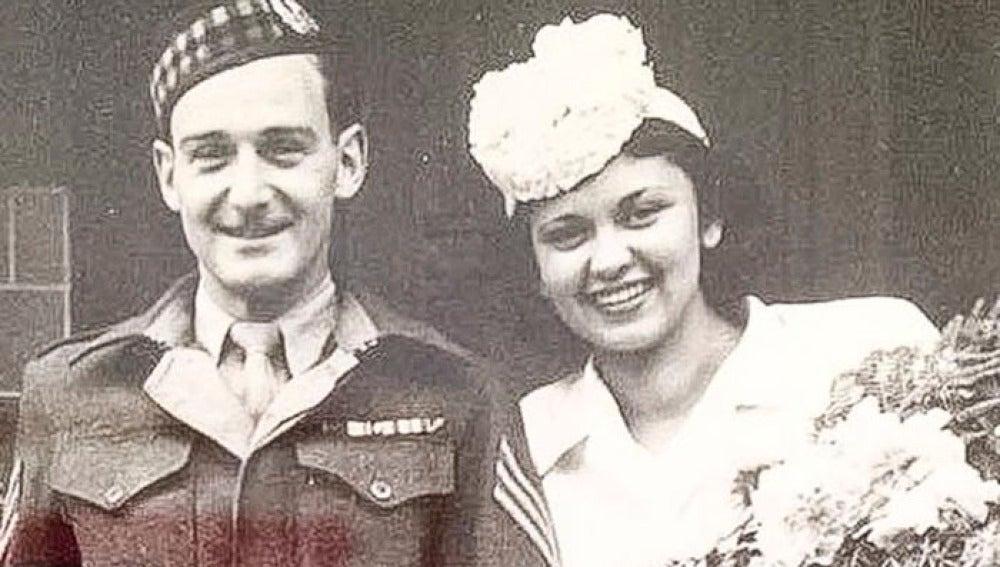John Mackay y Edith Steiner