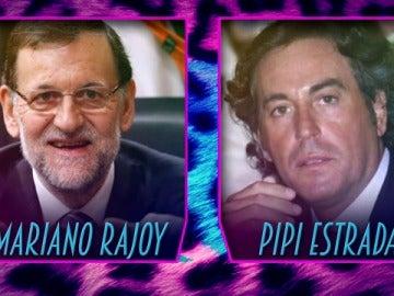 ¿Quién es mayor, Pipi Estrada o Mariano Rajoy?