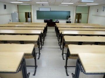Una clase de un colegio