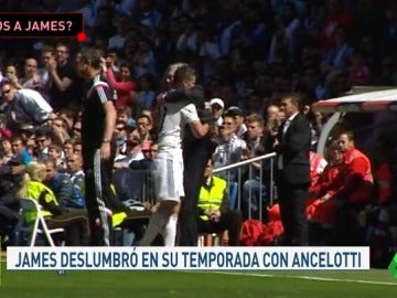 James Rodríguez, en la lista del Bayern de Múnich