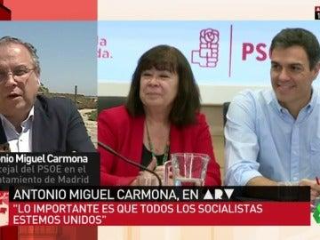 """Carmona: """"Quiero liderar la integración de los socialistas"""""""