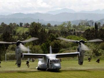 Avión militar de los marines de Estados Unidos