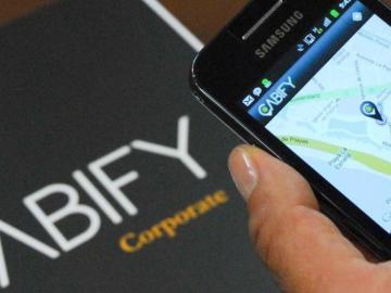 Aplicación de Cabify