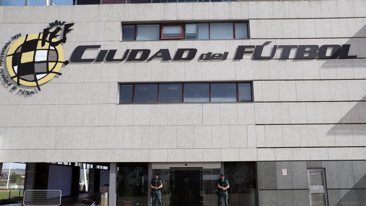 La sede de la Real Federación Española de Fútbol en Las Rozas