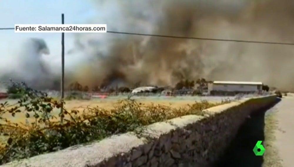 Riesgo muy alto de incendios en toda la península por las altas temperaturas