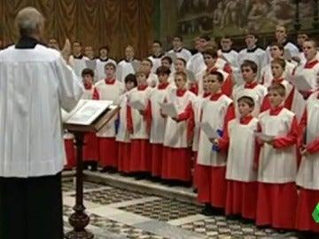 547 niños del coro de Ratisbona, el más famoso de Alemania