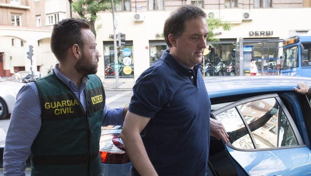 Gorka Villar, hijo del presidente de la Federación Española de Fútbol