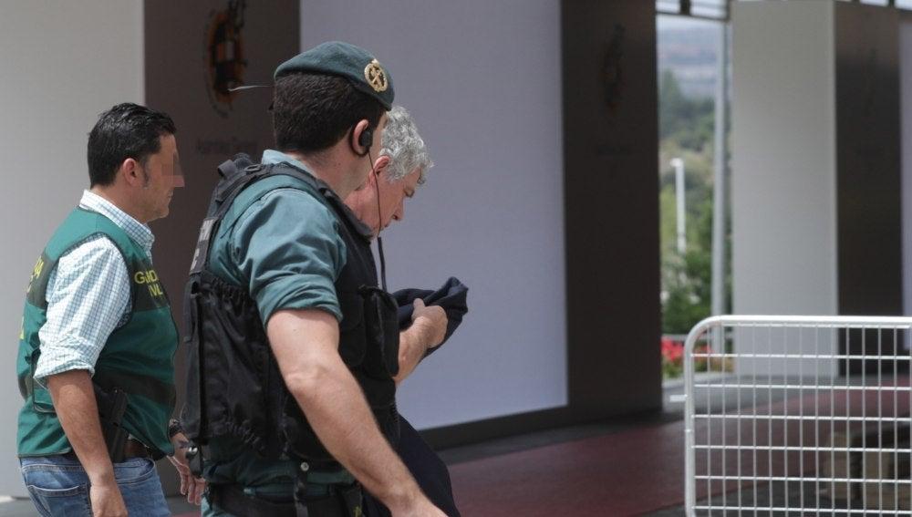 Ángel María Villar llega a la sede de la RFEF
