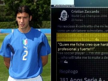 Cristian Zaccardo busca trabajo a través de Linkedln