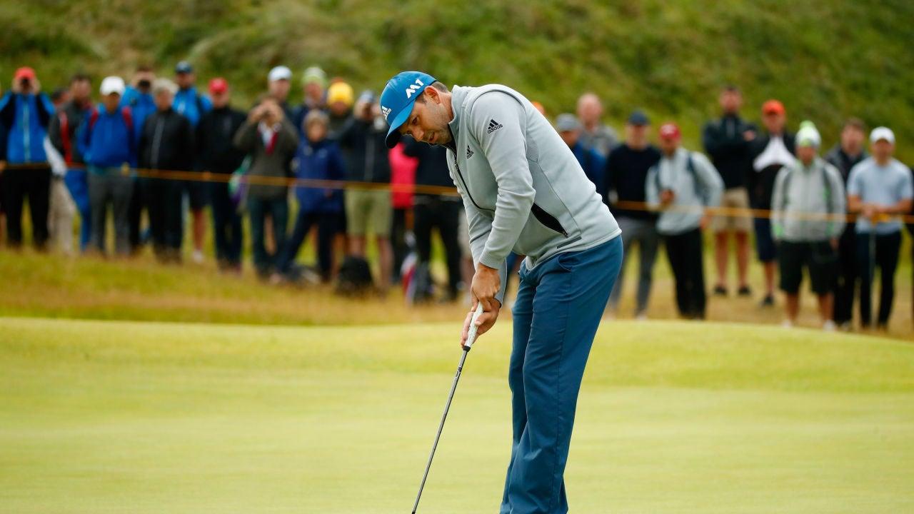 Sergio García, en el British Open