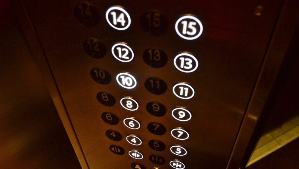 Imagen de archivo de un ascensor.