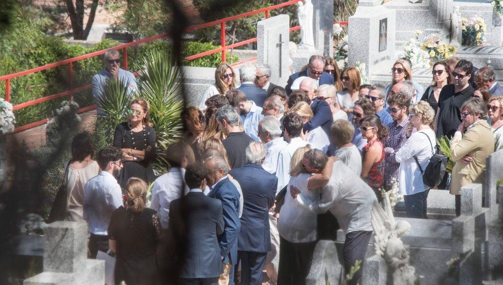 Las cenizas de Miguel Blesa reposan en el panteón familiar de Linares