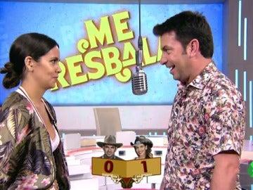 """Duelo de chistes entre Cristina Pedroche y Arturo Valls: """"Preferir a Anna Simon antes que a mí tiene que ser una broma"""""""