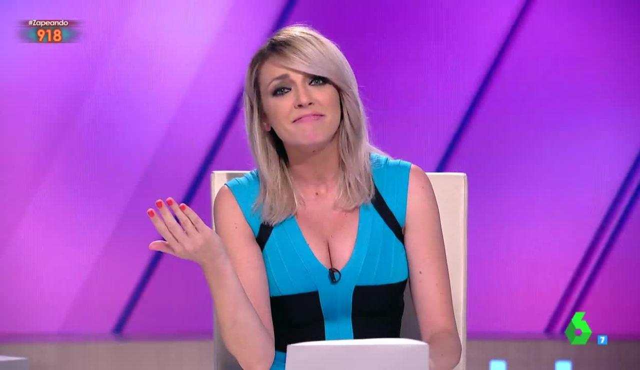 Ana Simmon, en su último día como presentadora de Zapeando