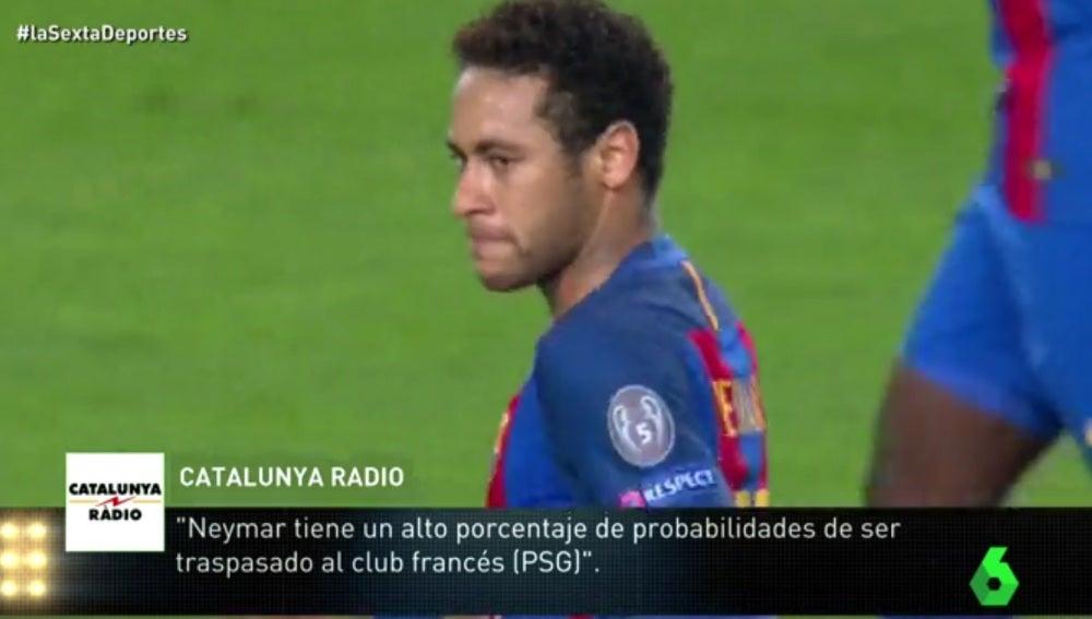 Neymar, delantero del FC Barcelona