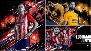 Las equipaciones del Atlético de Madrid para la próxima temporada