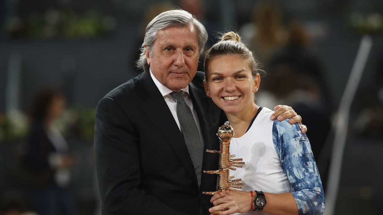 Ilie Nastase en el Mutua Madrid Open