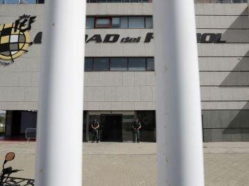 Entrada a la sede de la RFEF