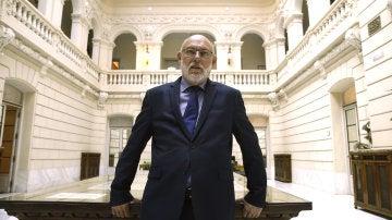 José Manuel Maza, fiscal general del Estado, posa durante una entrevista